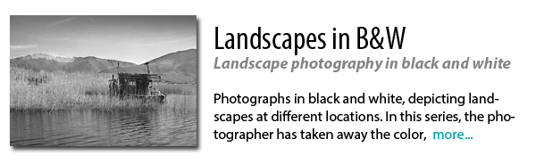 Markos Dolopikos Landscapes in B&W